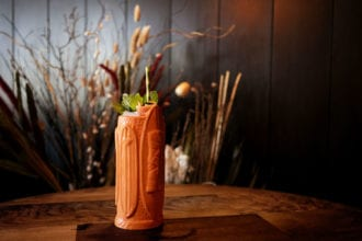The Oaxacan Dead is a south of the border take on the classic tiki cocktail, the Zombie.   Photo by Rob Klassen.