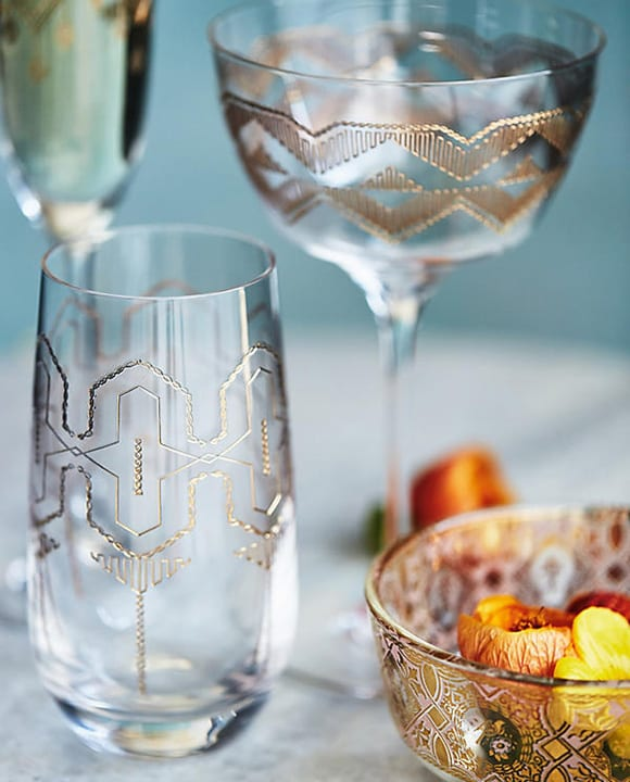 Cocktail hour will look better than ever with these delicate glasses from Anthropologie. $18, anthropologie.com