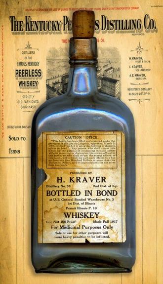 bottled in bond whiskey-peerless distilling