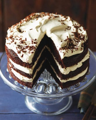 chocolate whisky cake