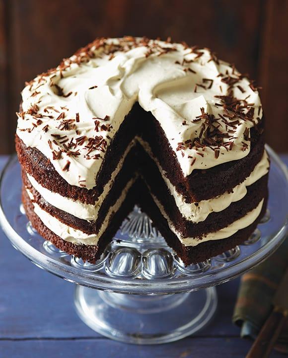 chocolate whisky cake