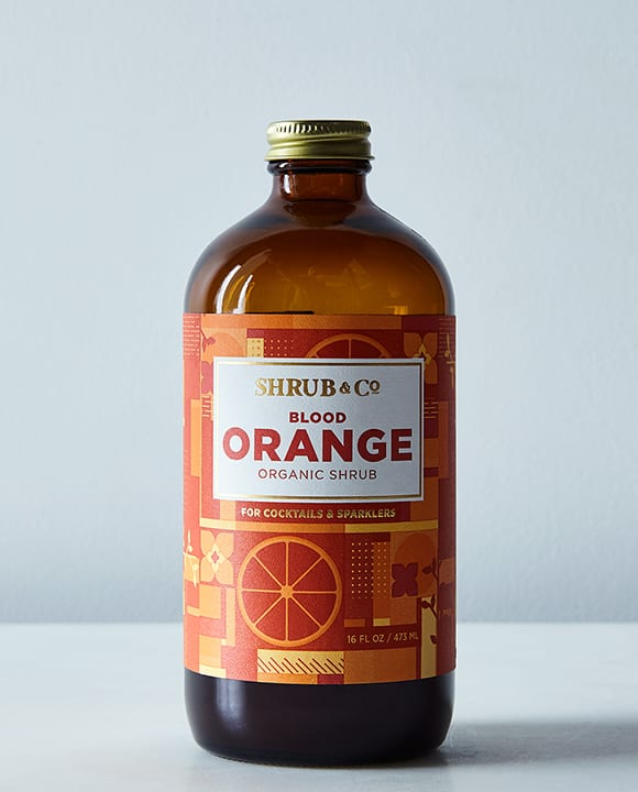 Made with just a few ingredients—blood orange juice, cane sugar and apple cider vinegar—the flavor of this shrub is superb. Mix with any base spirit, a little soda or even vermouth. $22, food52.com