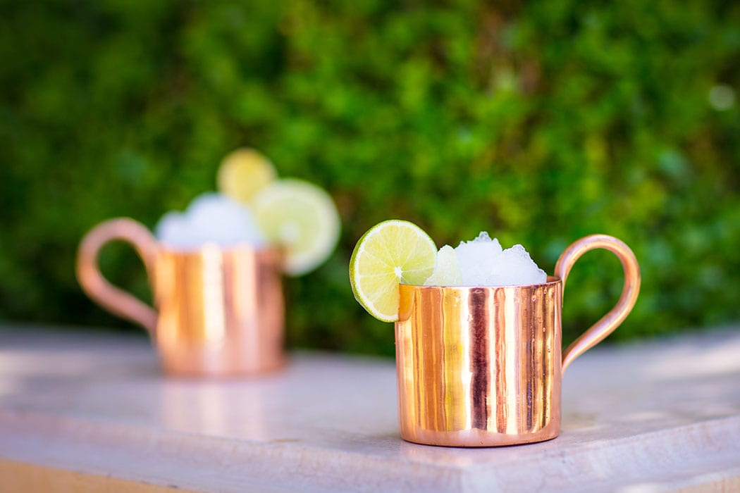 Frozen Moscow Mule. | Photo courtesy of the Aquatic Club.