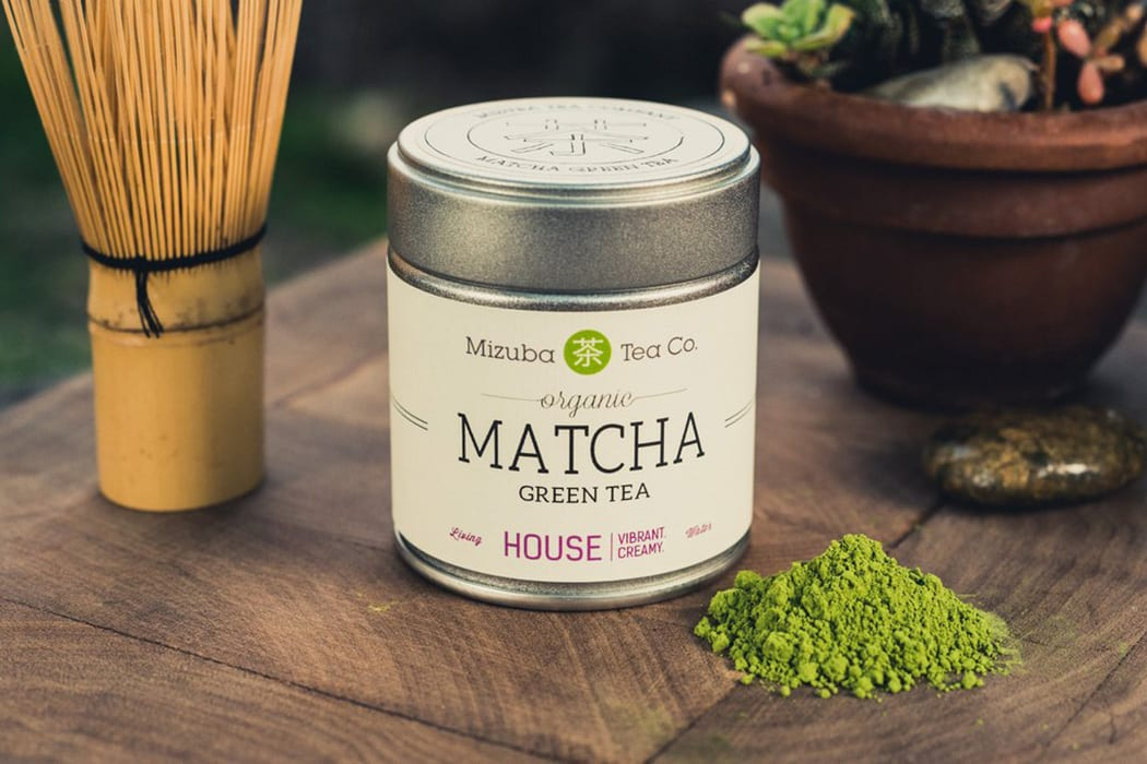 Mizuba Tea offers a range of matchas, but we especially love the House Organic. Made from a crop that's only harvested once a year, the tea has a creamy umami quality. $35, mizubatea.com