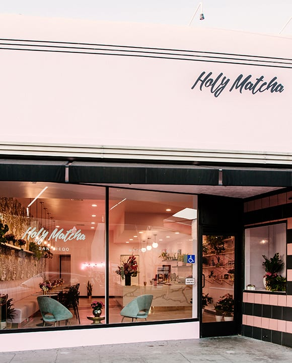 Holy Matcha is San Diego's newest matcha café.