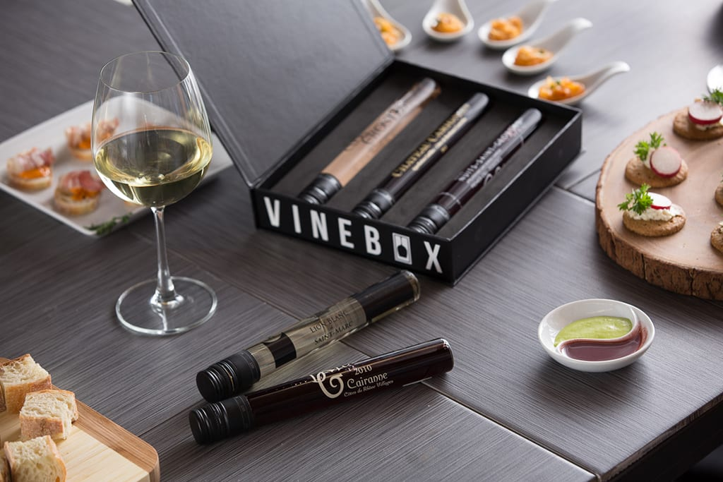 This new wine club lets you try different kinds of wine by the glass before having to commit to a full bottle. The base subscription includes three wines, chosen by sommeliers, delivered each month. $81 for three months, getvinebox.com