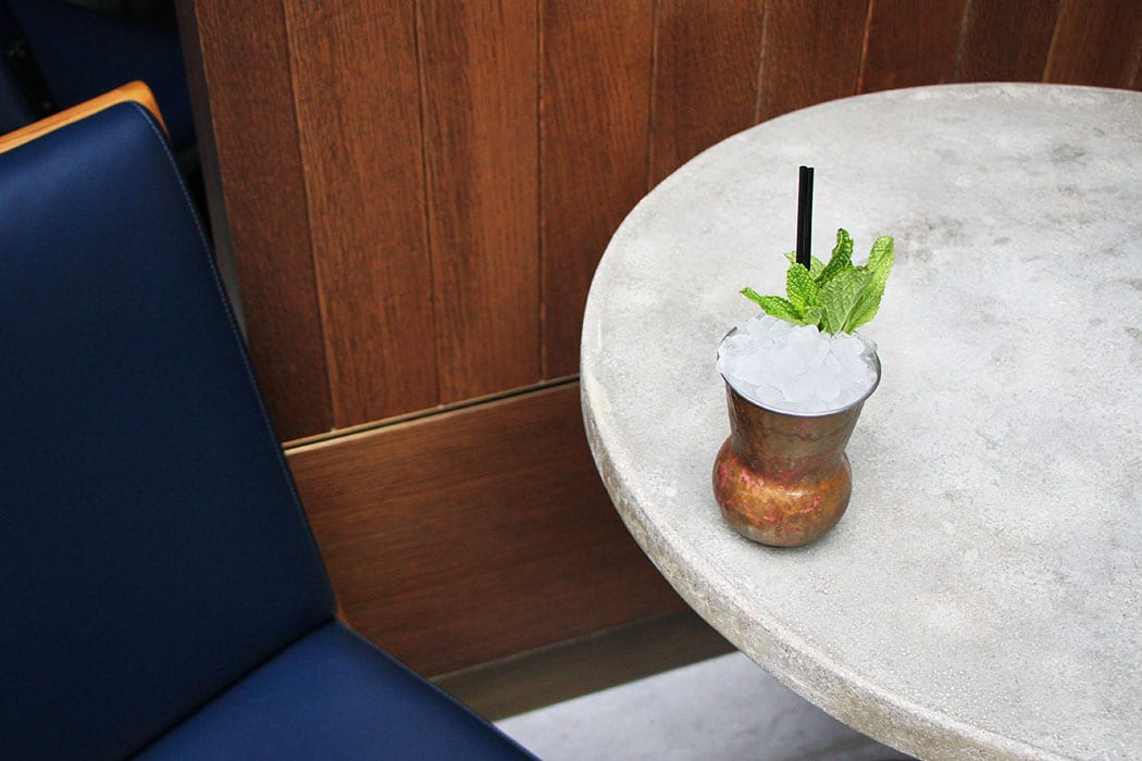 Cynar Julep. | Photo by Emma Janzen.