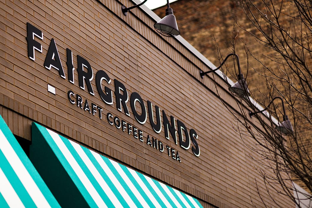 Fairgrounds Coffee opened in Chicago's Bucktown neighborhood earlier this spring. | Photo by Dorey Kronick.