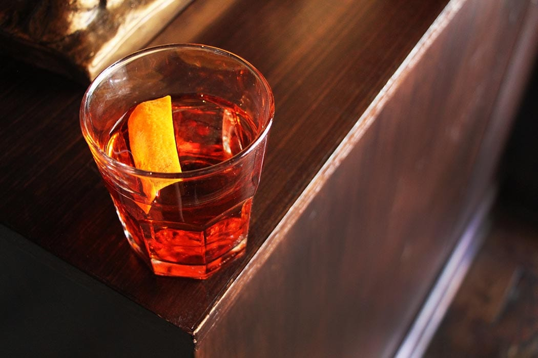 Jamaican Negroni. | Photo by Emma Janzen.