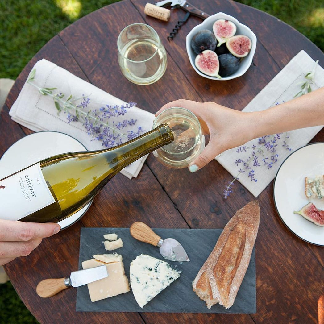 Tempting cheese spreads, pretty landscapes and plenty of eye-catching pour shots fill the feed of California's Cultivar Wine. | Follow them @cultivarwine.