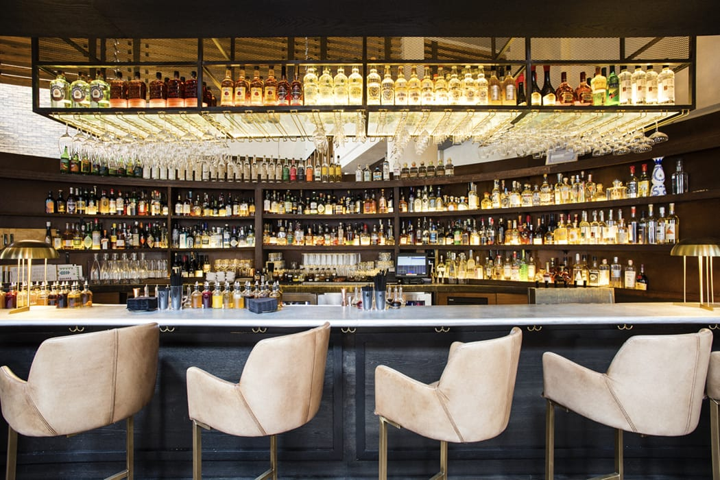The bar is meant to be a place where guests can learn about spirits and cocktails, but also pop in for a casual drink.