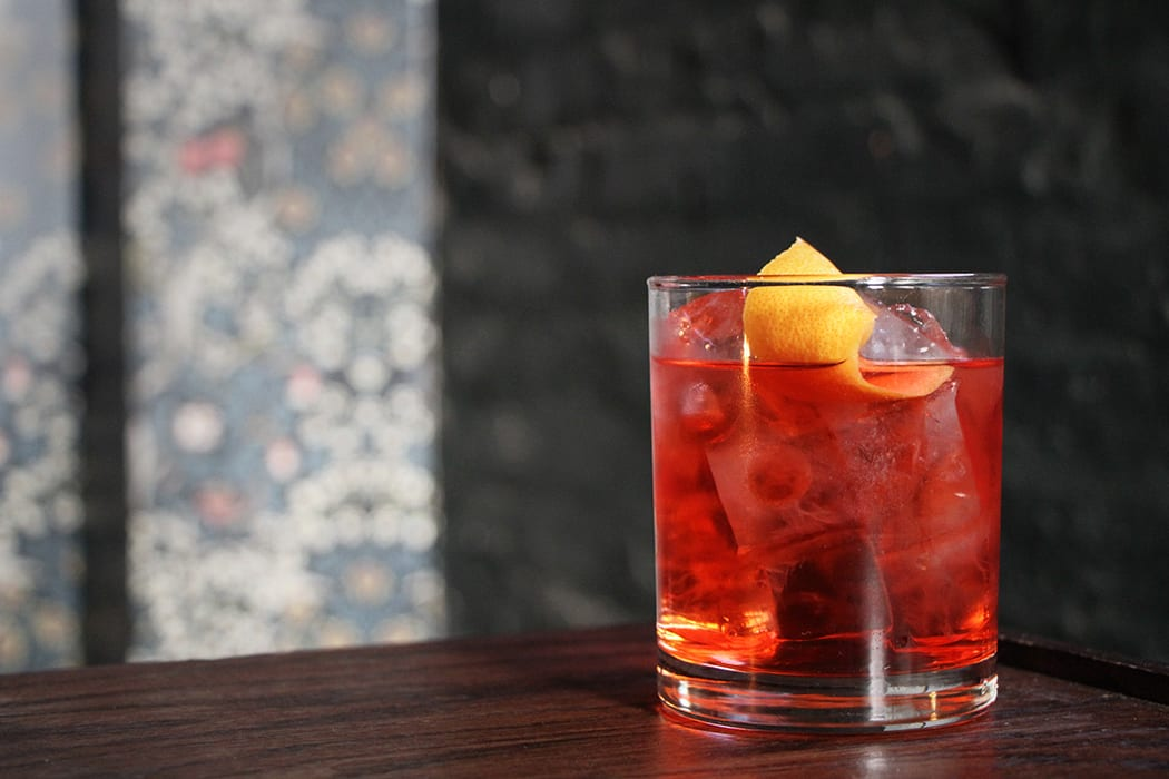 Rosé Negroni .  | Photo by Emma Janzen.
