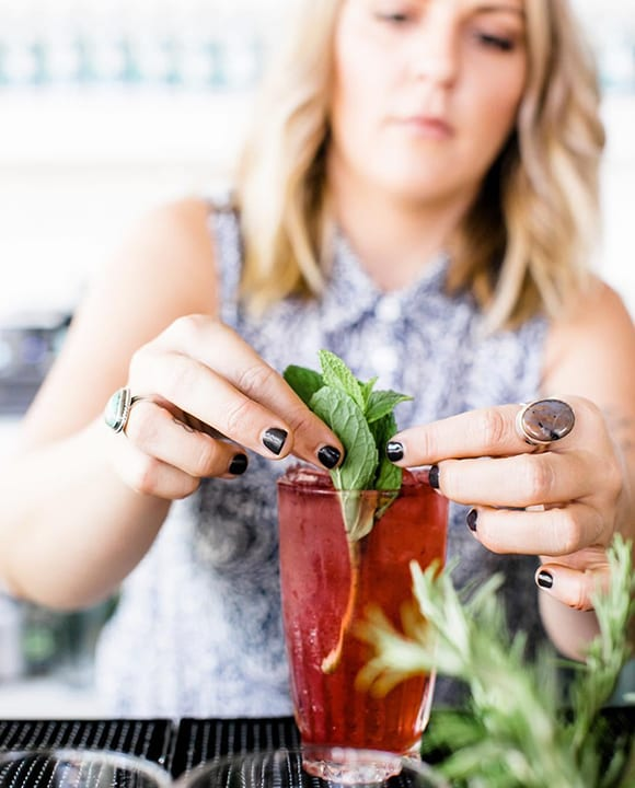 The feed for You & Yours urban distillery features photos shot by @lindsmariephoto that perfectly capture the bright sunny mood of imbibing in San Diego. | Follow them @youandyourssd.