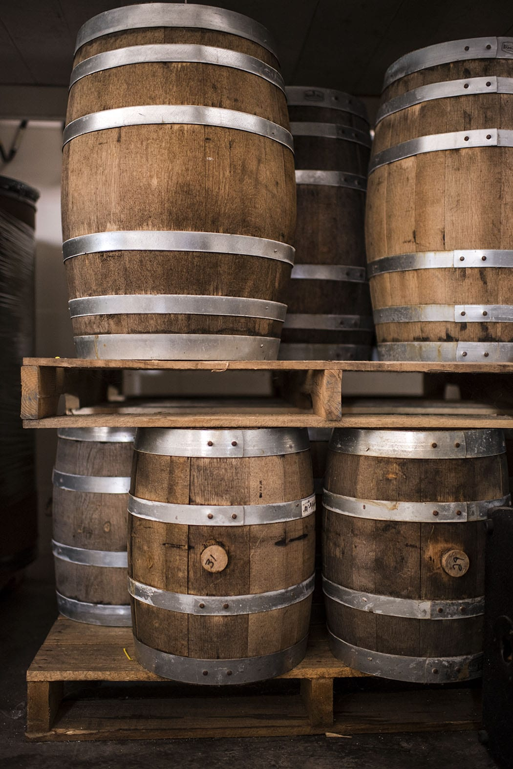 Wood aging and barrel-fermentation are a few of the special things happening on the beer side of the operations.