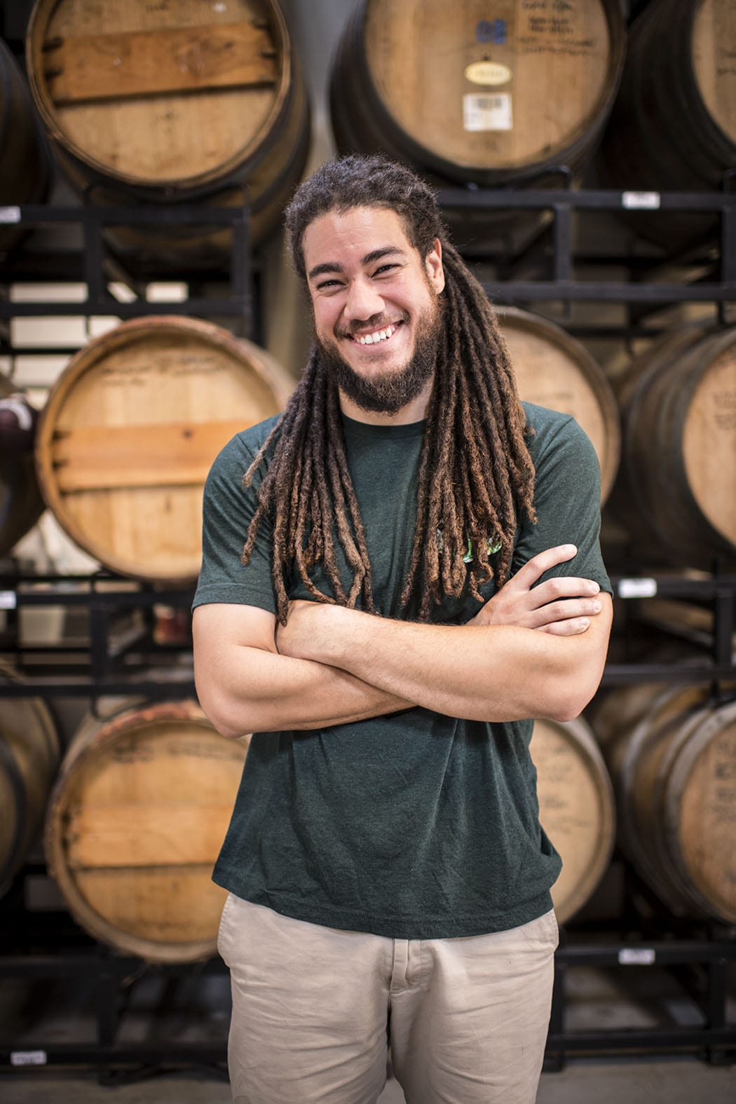 Co-owner and brewer Khris Johnson is a St. Petersburg native.