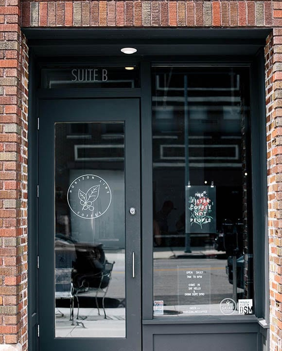 Horizon Line is the newest coffee shop in Des Moines, Iowa.