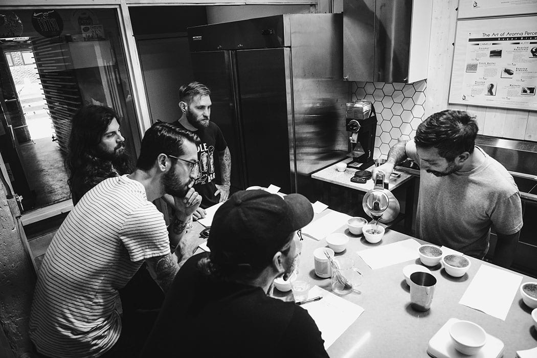 Xavier Alexander of Metric Coffee walks The Devil Wears Prada through a cupping to find the best fit for their collaboration.