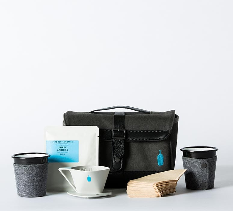 Blue Bottle Weekender Kit, $95