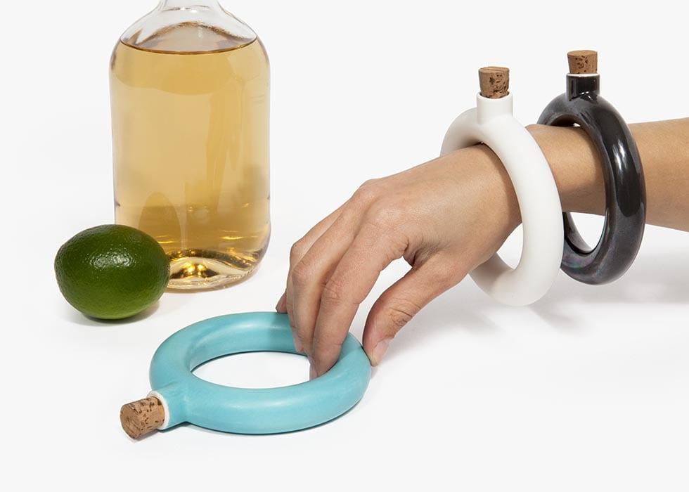 Bracelet Flask, $35
