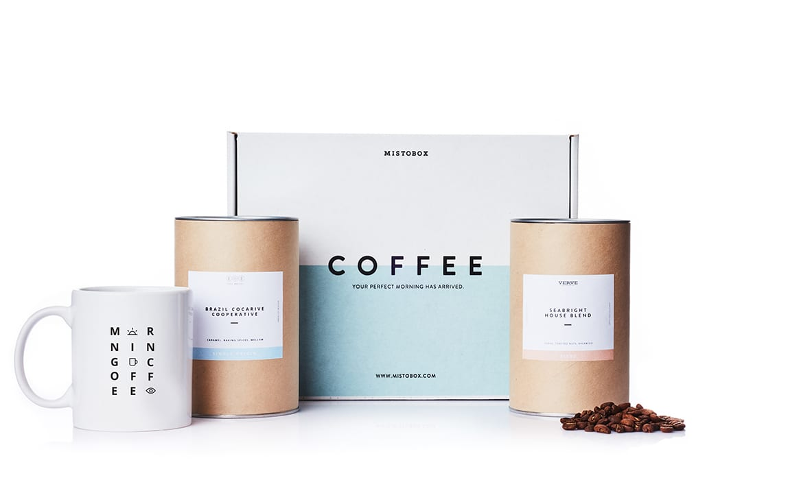 MistoBox Coffee Subscription, $120