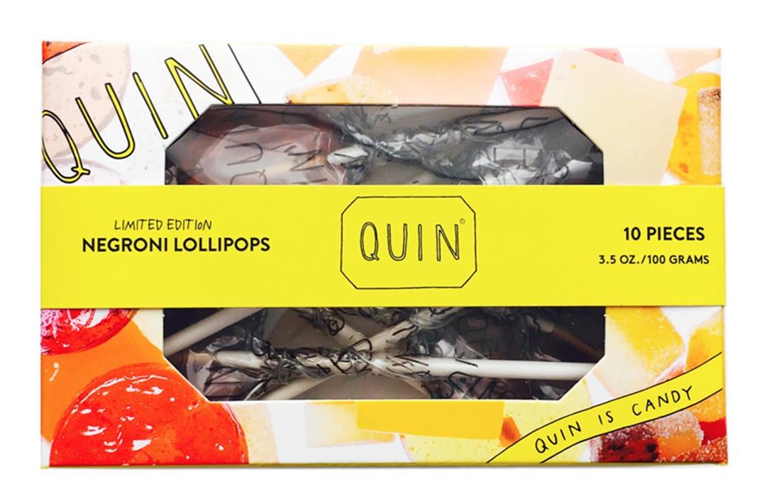 Negroni Lollipops, $10