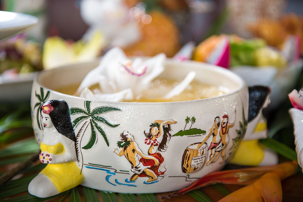 Trader Vic's Scorpion Bowl, $45