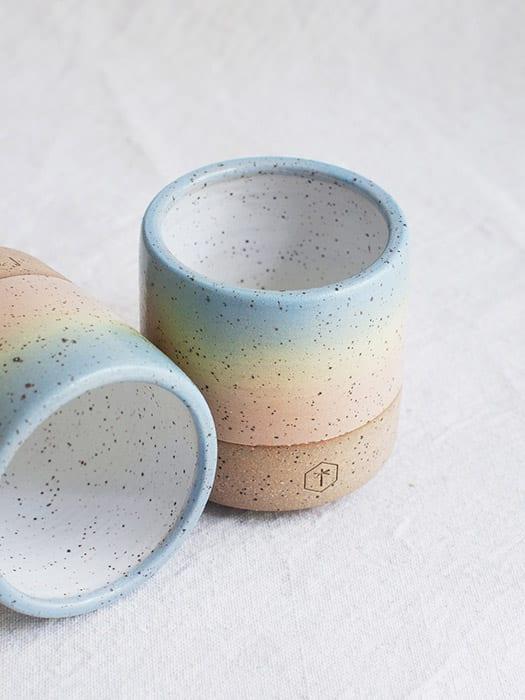 Rainbow Mug, $32