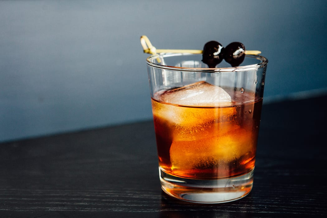 Walnut Old Fashioned. | Photo by Marie Buck.