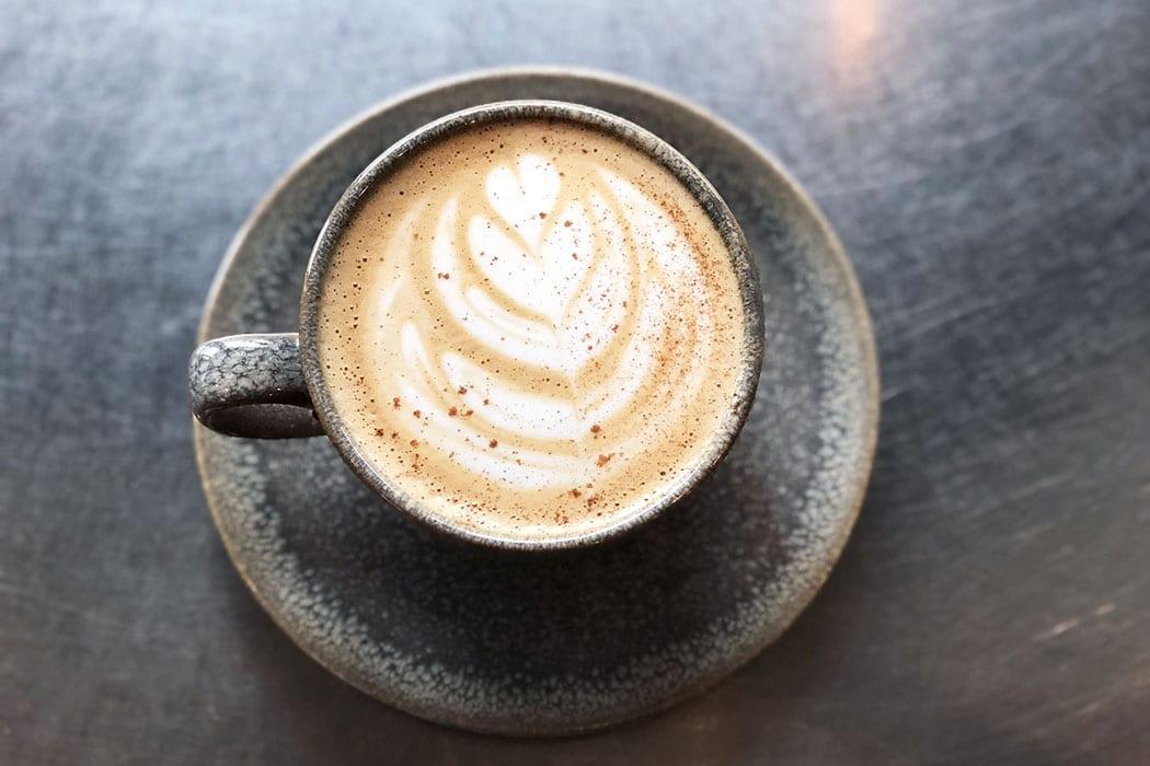 Honey Bourbon Latte. | Photo by Brittany Garrison.