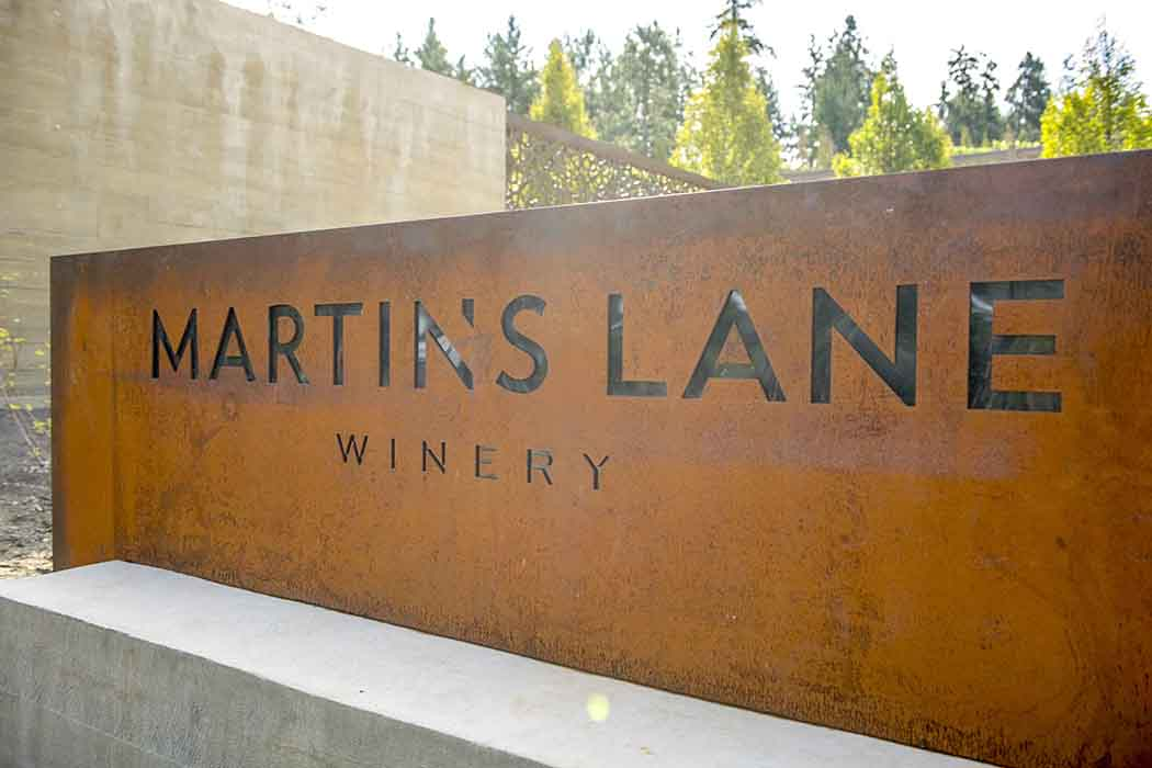 The second winery from the Von Mandl Family Estate, Martin's Lane winery is located in the Okagnan Valley in British Columbia. | Photo by James O'Mara.