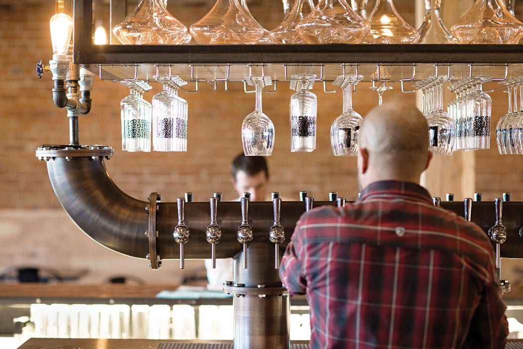Goed Zuur in Denver specializes in sour beer.   Photo by Rebecca Stumpf.