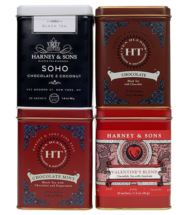 Harney & Sons Chocolate Lovers Gift Pack. | harney.com, $29.95