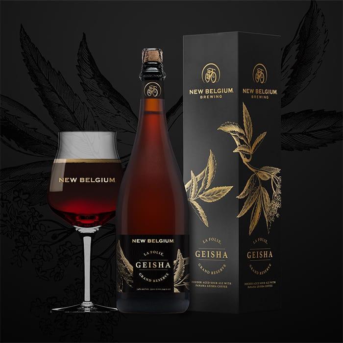 New Belgium La Folie Grand Reserve: Geisha. | binnys.com, $47.97