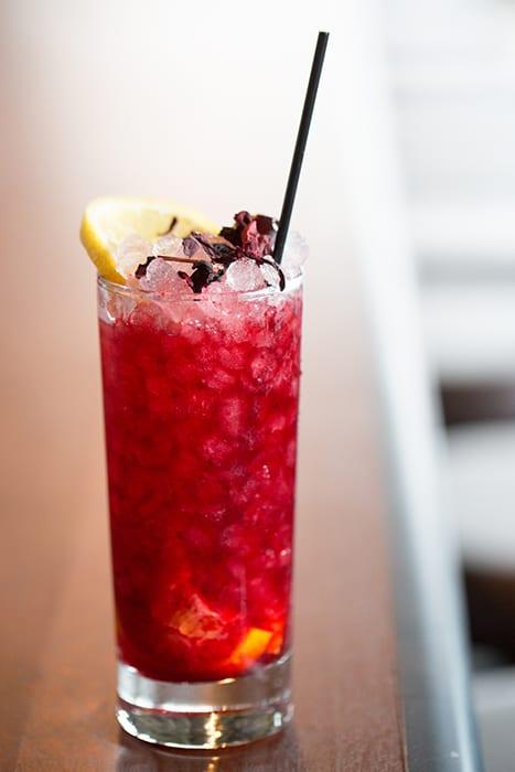 Hibiscus Tea Cobbler. | Photo by Alan Weiner.