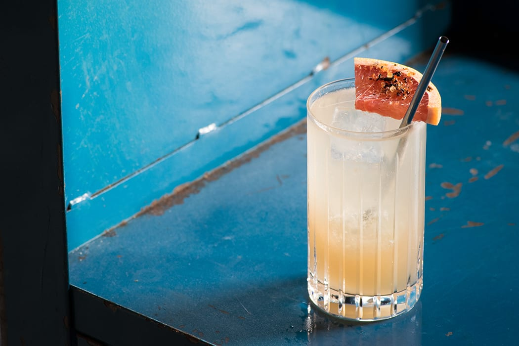 Mezcal Ancho Paloma. | Photo by Maddie Teren.