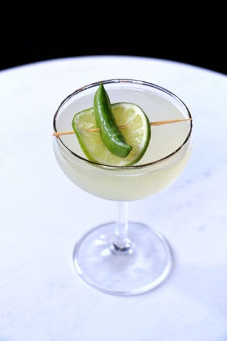 sweet pea cocktail
