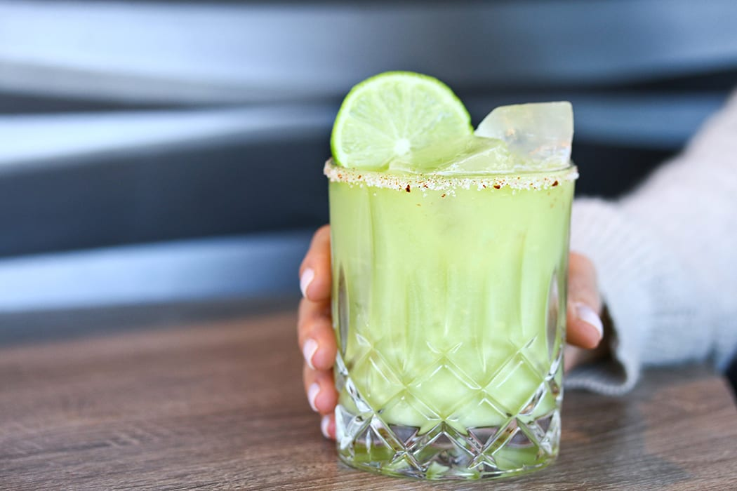 mezcal avocado margarita