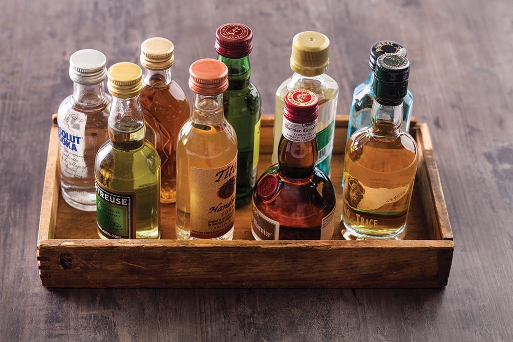 Mixopedia The Secret Life Of Mini Bottles Imbibe Magazine