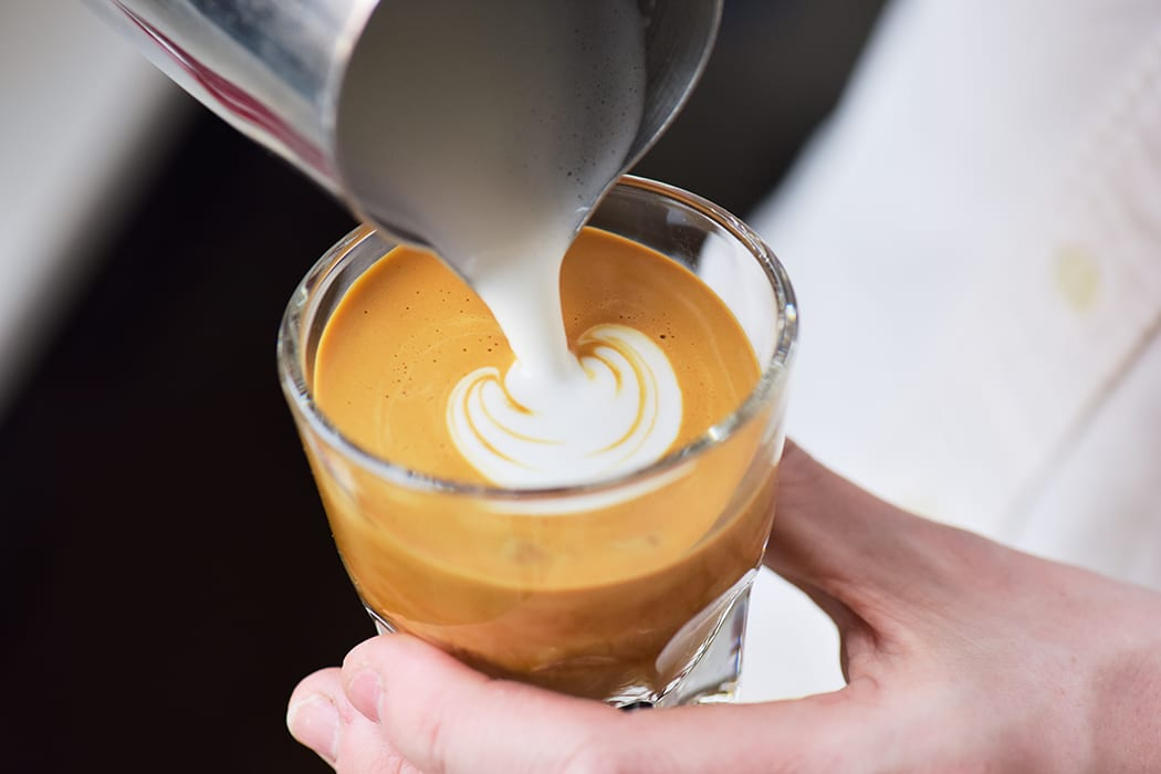Classic espresso drinks will share menu space with creative specialty concoctions.