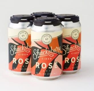 Shacksbury Rosé Cider