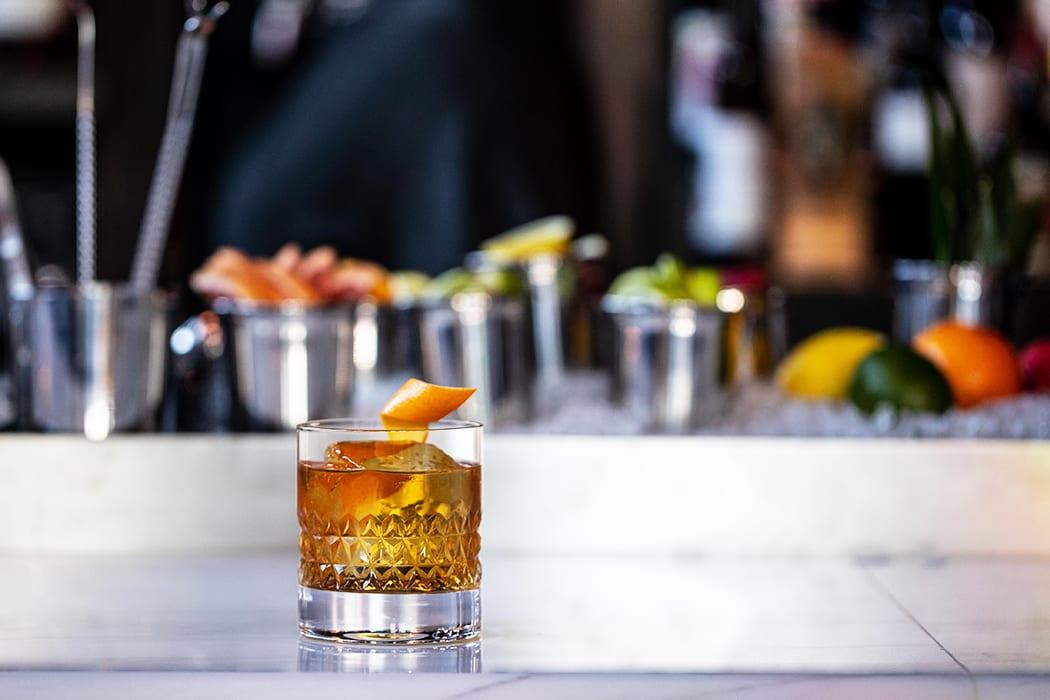 The Highwayman cocktail. | Photo by Elliott Clark.