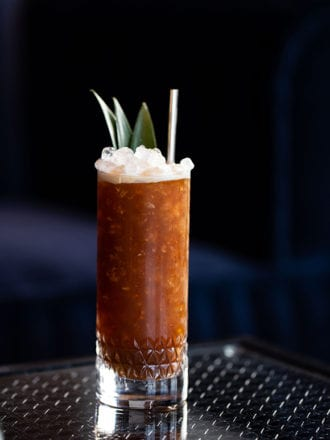 Cold Brew Tiki Cocktail