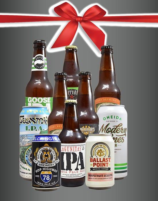 10 Bottle IPA Basket. |  $60, craftbeerkings.com
