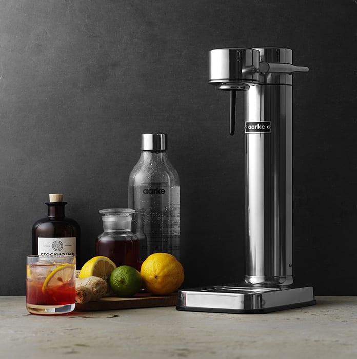Aarke Sparkling Water Maker. | $200, aarke.com