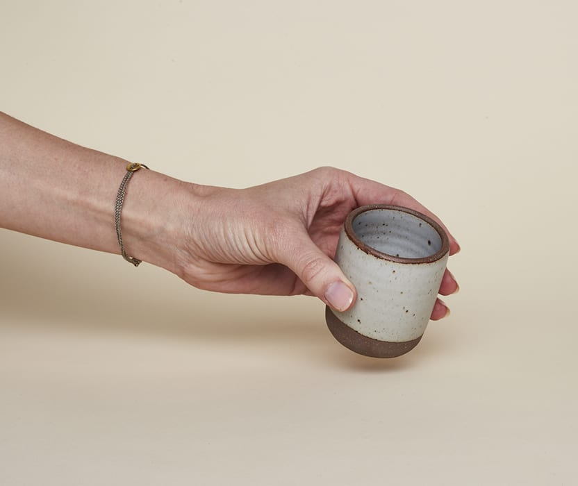 Clay Espresso Cups. | $16, eastforkpottery.com