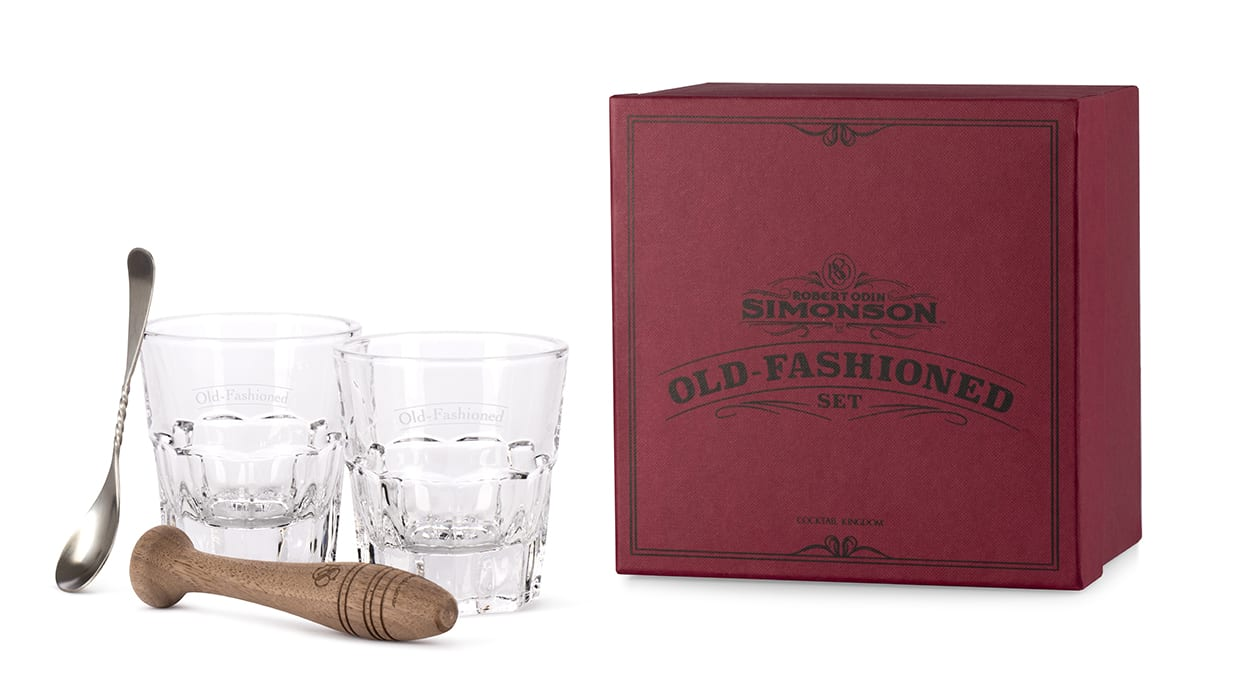 Robert Simonson's Old Fashioned Kit. | $50, cocktailkingdom.com