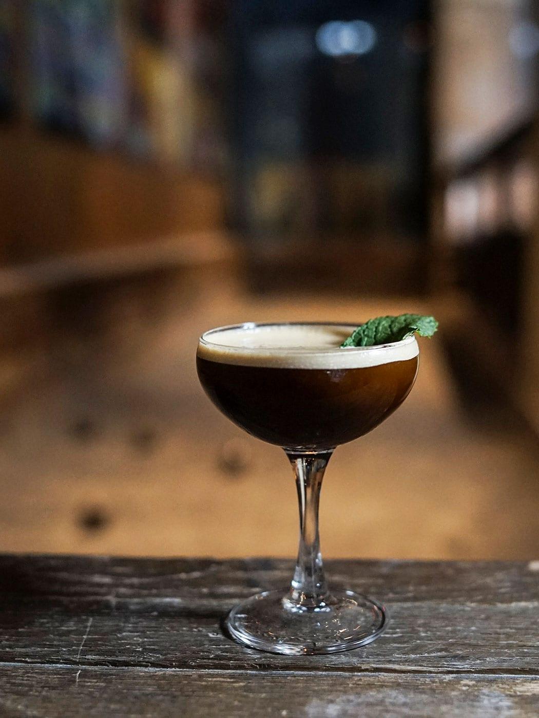 Bar Clacson's Espresso Martini. | Photo by Olivia Frescura.