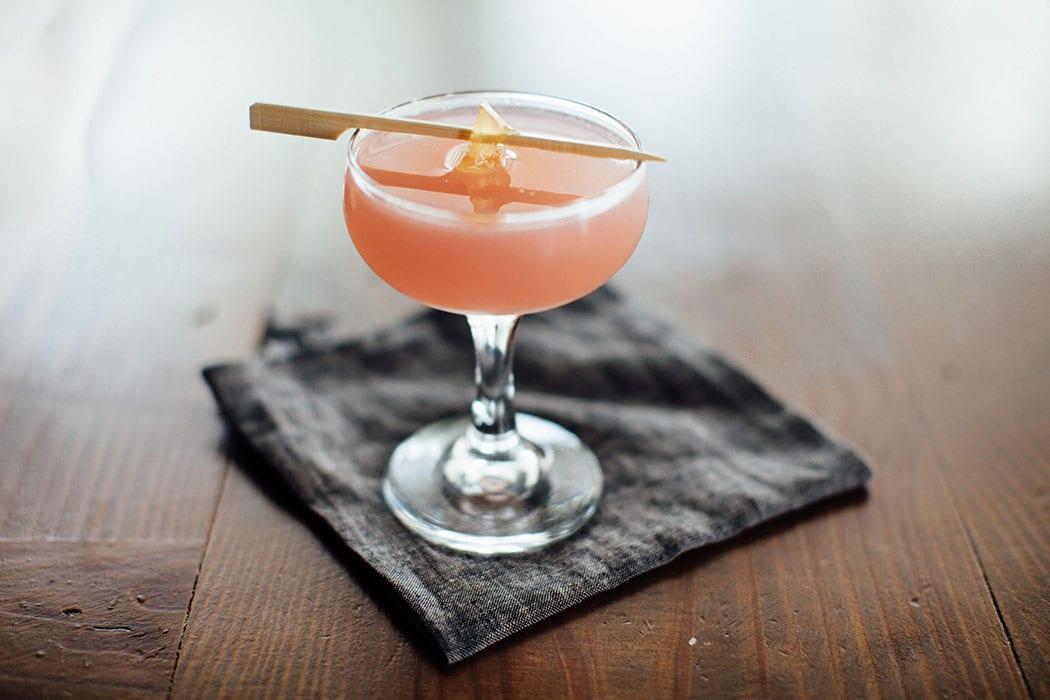 Confederados Cocktail. | Photo by Justen Clay.