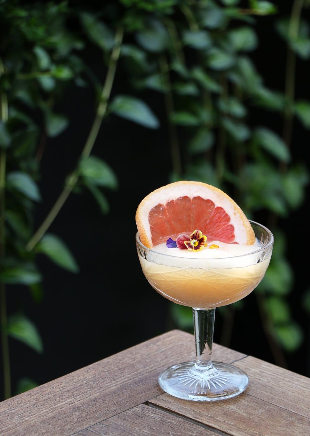 frozen white wine cocktail