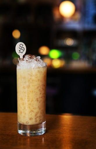 Oat Milk & Honey Cocktail